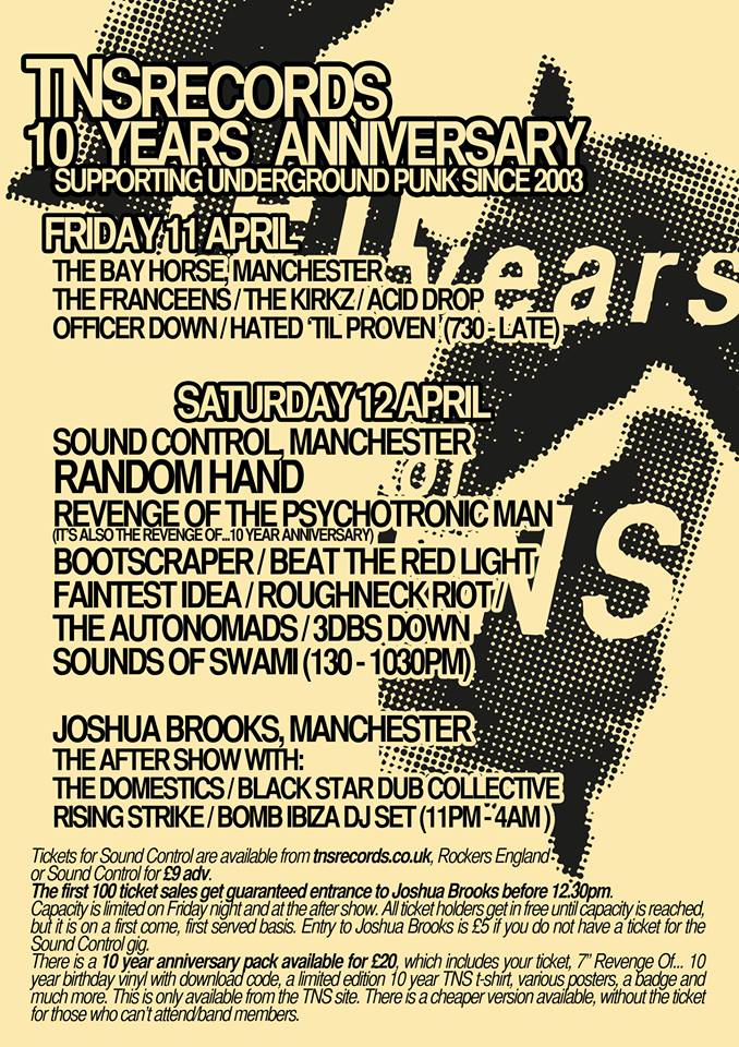 TNSrecords All-dayer Flyer