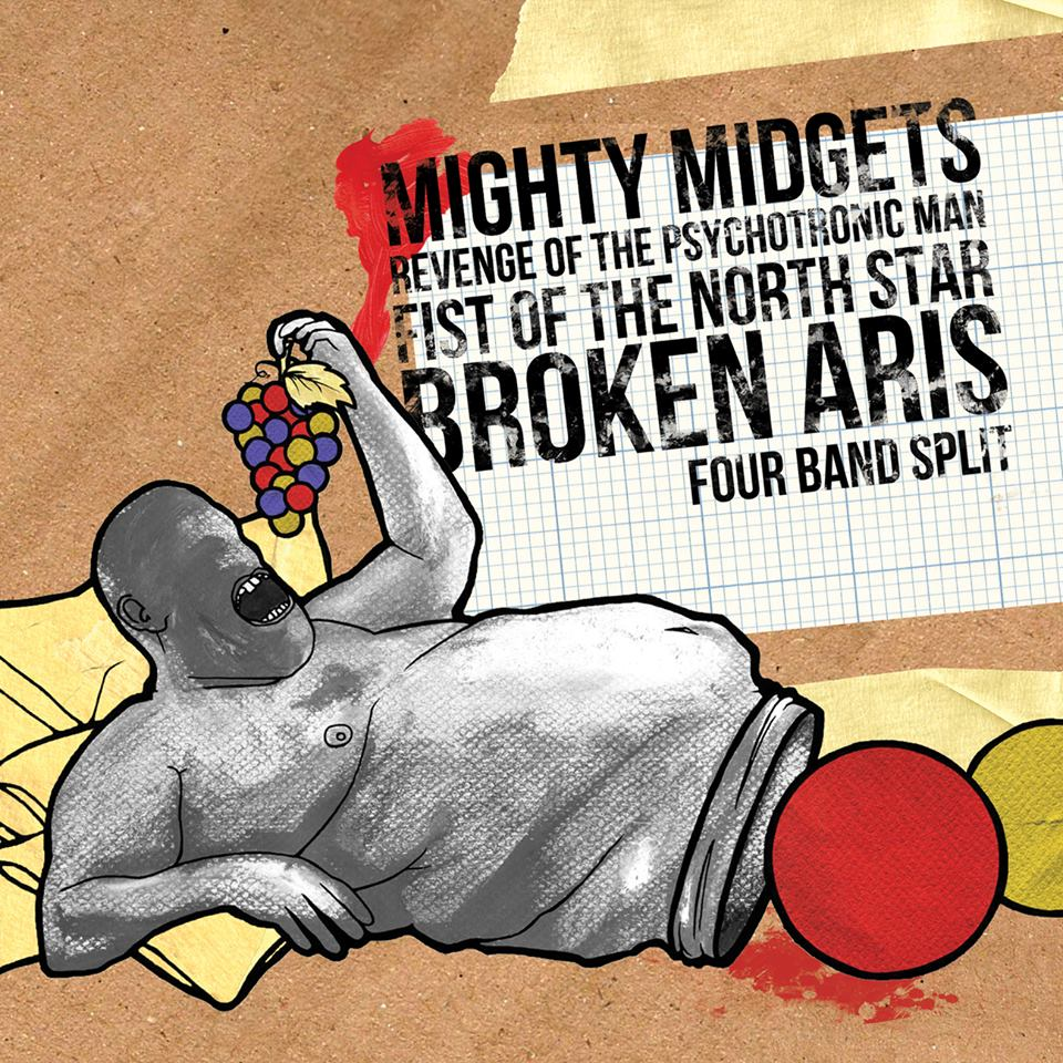 International Split EP: Revenge Of/Mighty Midgets/Fist Of