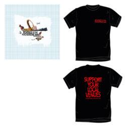 cd + shirt