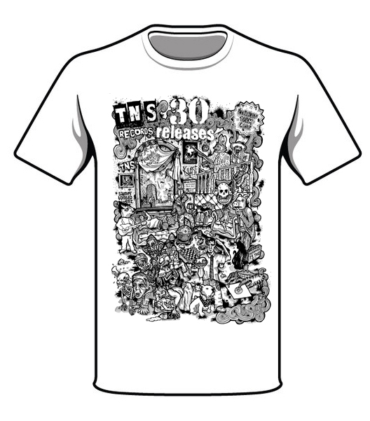 3a6af7cc Collect Them All T-Shirt - TNS Records
