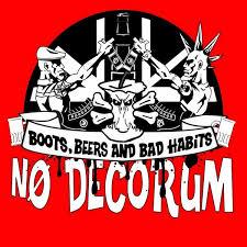 No Decorum - Boots, Beer and Bad Habits