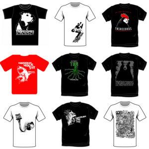 TNSrecords t-shirt designs