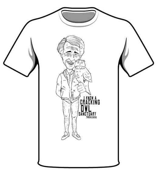 499a6331 TNSrecords Alan Partridge Owl T-shirt - TNS Records
