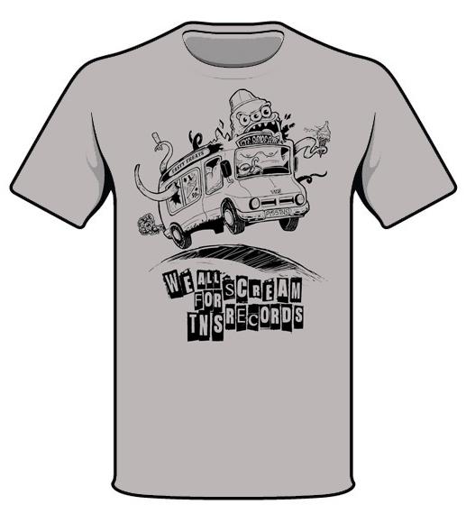462b85f1 TNSrecords 'Ice Cream' T-shirt - TNS Records