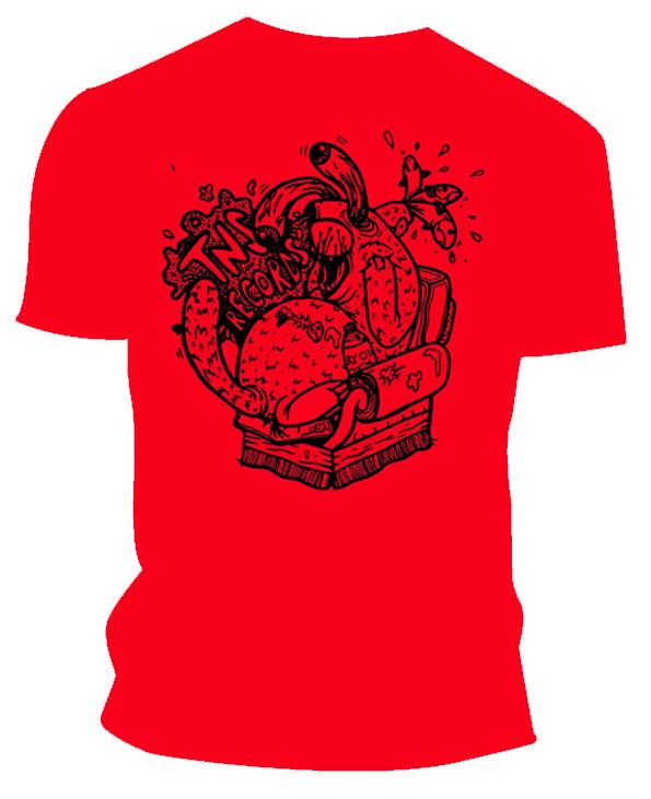 aea2a7db TNS T-Shirt Subscription 'Visible Otter' - TNS Records